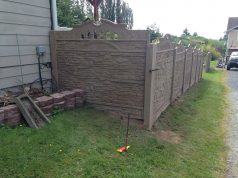 fence for life concrete fence review