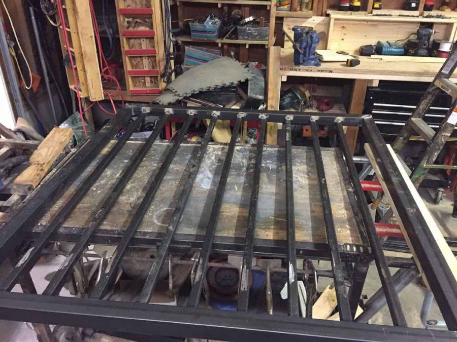 custom diy steel gate