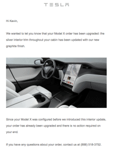 tesla model x upgrade