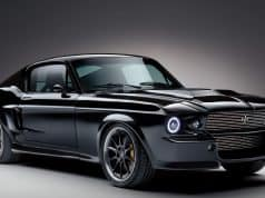charge all electric mustang fastback