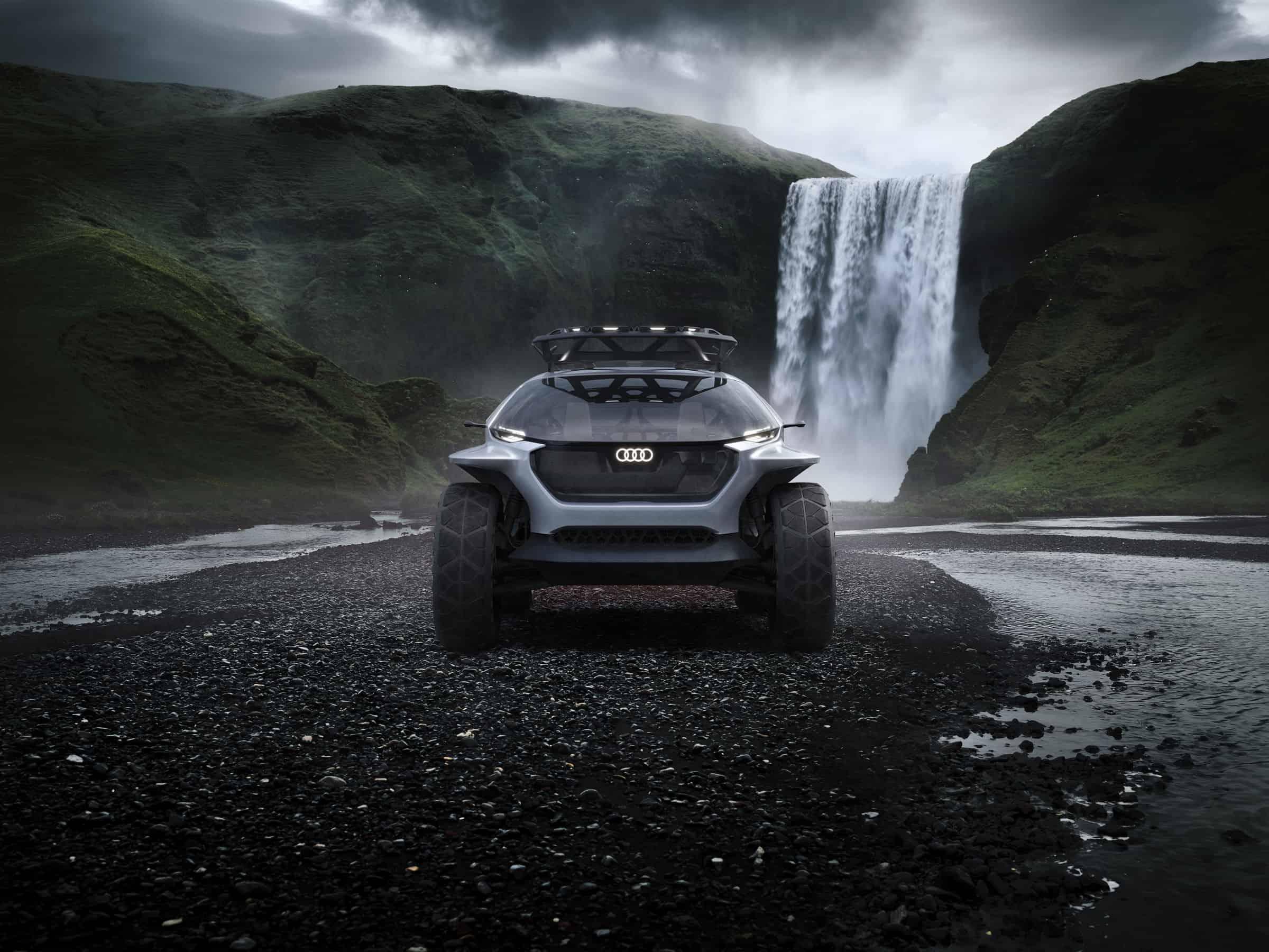 audi ai trail off-road concept vehicle
