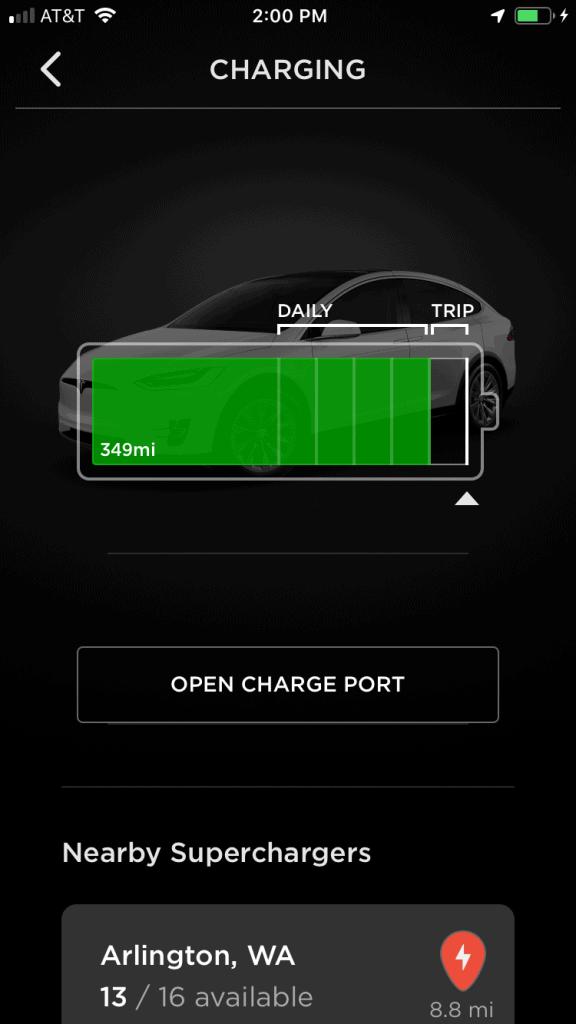 Tesla range update - 349 miles