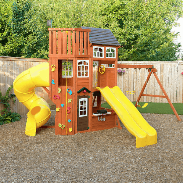 Cedar Summit Playset to Treehouse - Purchased from Costco