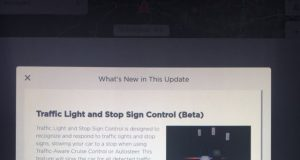 tesla software update 2020.12.6 traffic light and stop sign control - beta