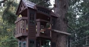 treehouse from modified play set