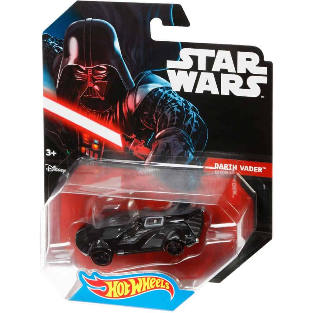 darth vader's car hot wheels diecast