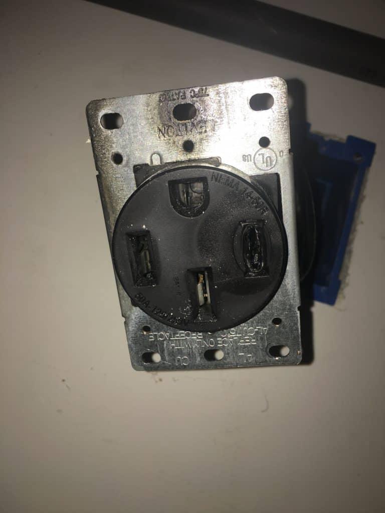 electrical failure nema 14-50