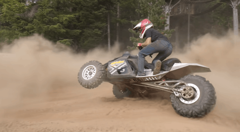 off-road reverse trike