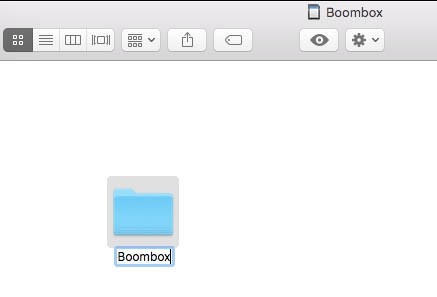 how to format a flash drive for tesla boombox