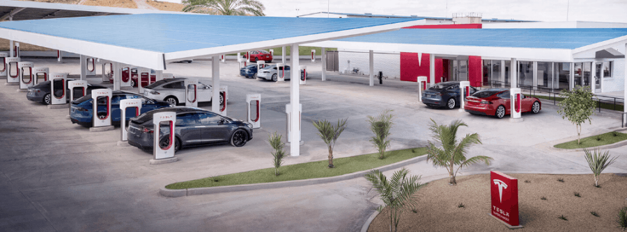 supercharger tesla charging stations