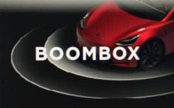 tesla boombox